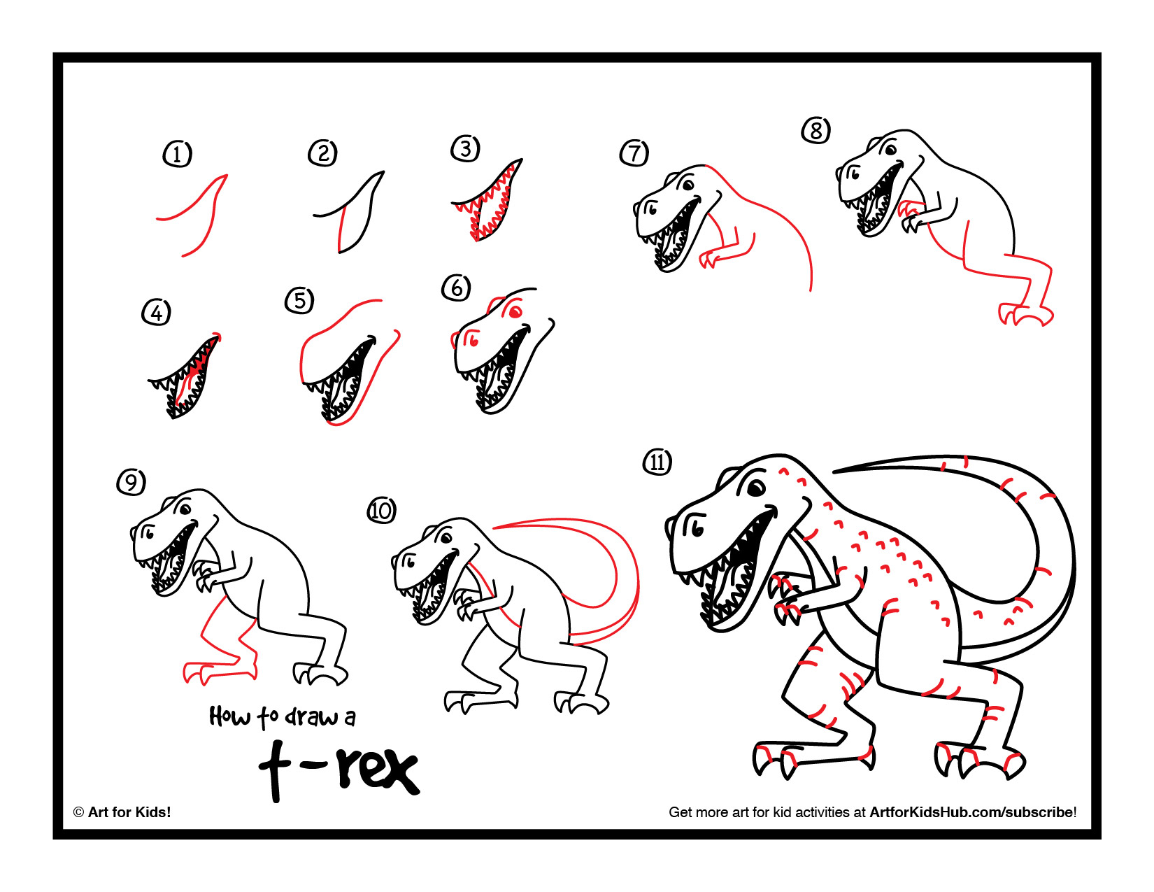 how-to-draw-a-trex